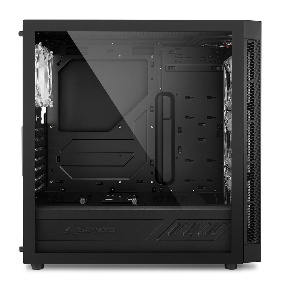"""Geeknetic Sharkoon TG6M RGB, una caja ATX con frontal """"mesh"""" y cuatro ventiladores ARGB 1"""