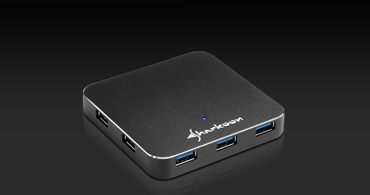 7-Port USB 3.0 Aluminium Slim Hub