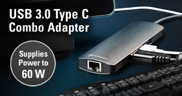 USB 3.0 Type C Combo Adapter